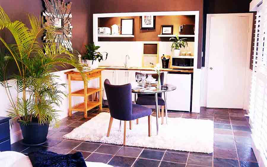dine in your own private dining room
